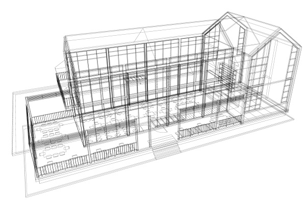 Designing a House with Revit 3D Modeling