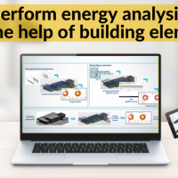 How to perform energy analysis in Revit with the help of building elements